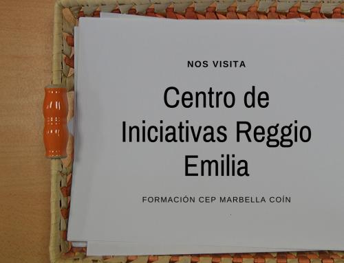 Centro de Iniciativas Reggio Emilia nos visita