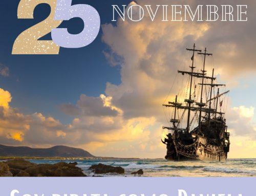 Soy Pirata, como Daniela (25 N)